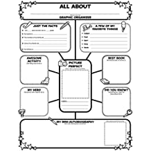 Graphic Organizer Posters: All-About-Me Web: Grades 3-6: 30 Fill-in Personal Posters for Students to Display with Pride