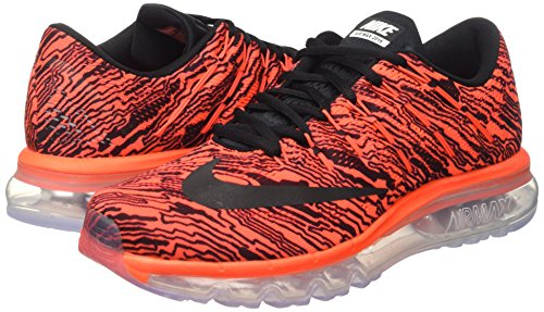 total Nike Uomo Naranja Multicolore black 2016 Print Crimson Da Scarpe Negro Black multicolore Corsa Air Max H7rqH0
