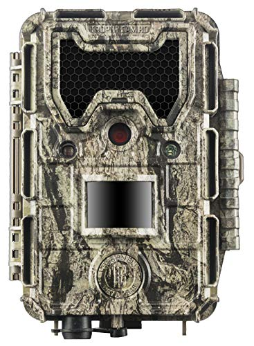 Bushnell 119877 24MP Trophy Cam HD No Glow Trail Camera with Color Viewer, Camo Camouflage (Best No Glow Trail Camera)
