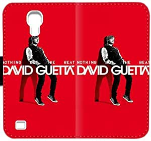 David Guetta Nothing But The Beat caja del cuero Efr V0J8F Funda Samsung Galaxy S4 Funda R3jiX1 Camo cubiertas del teléfono