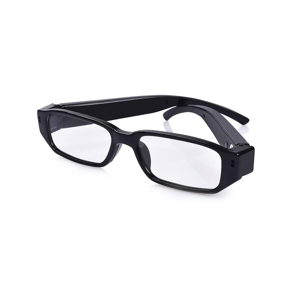 YAOAWE FHD Hidden Camera Eyeglasses - Super Small Surveillance Spy Camera - Video Loop Recording, Photo Taking - Mini Digital Camera-USB Charger by YAOAWE