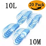 20 Pack Dental Mouth Opener Cheek Retractor for Mouthpiece Challenge Game Mouthguard Challenge C-SHAPE Teeth Whitening Intraoral Cheek Lip Retractors