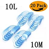 20 Pack Dental Mouth Opener for Speak Out Game/Watch Ya Mouth Cheek Retractor Mouthguard Challenge C-SHAPE Teeth Whitening Intraoral Cheek Lip Retractors