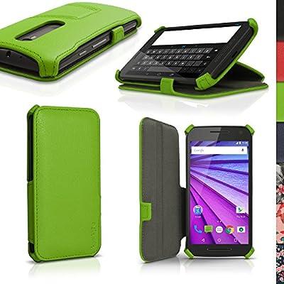 iGadgitz u4157 Funda PU Piel para Motorola Moto G 3 A ...