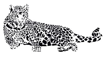 Huge Cheetah Leopard Jaguar Cat Wall Mural Vinyl Decal