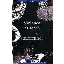 Violence et sacre