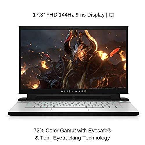 "HIDevolution Alienware M17 R2 17.3"" FHD 144Hz 9ms | White | 2.3 GHz i9-9880H, RTX 2070 Max-Q, 16GB 2666MHz RAM, 1TB PCIe SSD | Performance Upgrades & Warranty"