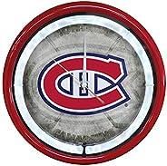 Authentic Street Signs NHL Hockey Sports Team Plasma Clock