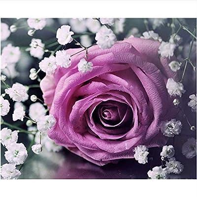 Wacydsd Puzzle 1000 Pezzi Rosa Viola Puzzle Classico Kit Fai Da Te Giocattolo In Legno Regalo Unico Decorazioni Per La Casa