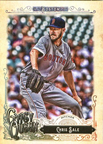 Baseball Sale Chris (2017 Topps Gypsy Queen #243 Chris Sale Boston Red Sox Baseball Card)