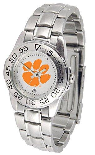 Tigers Sport Steel Watch (Clemson Tigers Sport Steel Women's Watch)