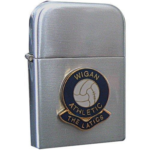 Wigan Athletic Football (Football Club Lighters-Wigan Athletic 'The Latics' Football Club Petrol Storm Proof Lighter)