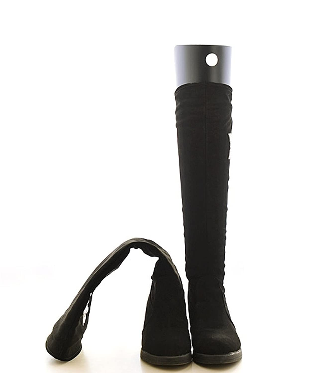cd24970abb8 2Pairs Shoe Trees Tall Short Boot Shaper Tree Inserts Knee High Shoes Thigh  Boot Holder Support
