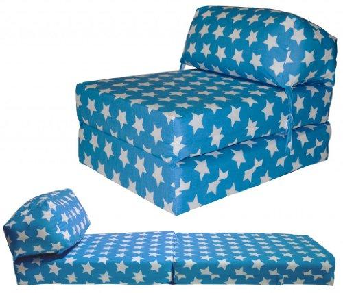Gilda JAZZ CHAIRBED - KIDS PRINTS Deluxe Single Chair z Bed Futon