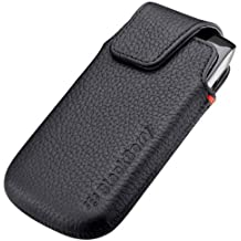 Blackberry ACC-38960-301 Torch 9850/9860 Leather Swivel Holster - 1 Pack - Retail Packaging - Black