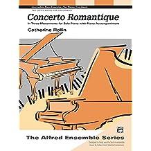 Concerto Romantique: Intermediate Piano Duet (Alfred's Basic Piano Library)
