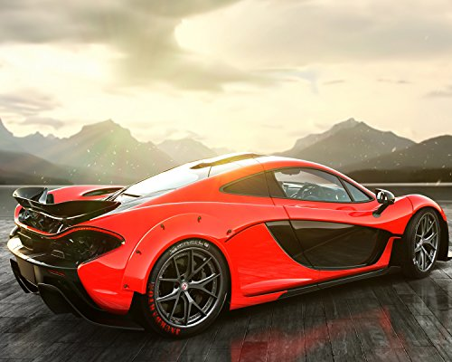 Mclaren Car Poster Wall Decoration High Quality