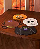 Set of 4 Halloween Placemats