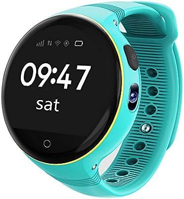 FREESOO Reloj para Niños Reloj Infantil GPS localizador ...