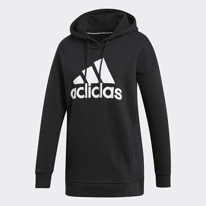 adidas Performance WARM HOODIE Kapuzenpullover black