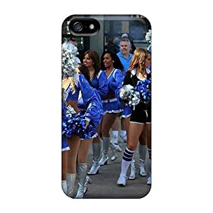Ideal Saraumes Case For HTC One M8 Cover(detroit Lions Cheerleaderss), Protective Stylish Case