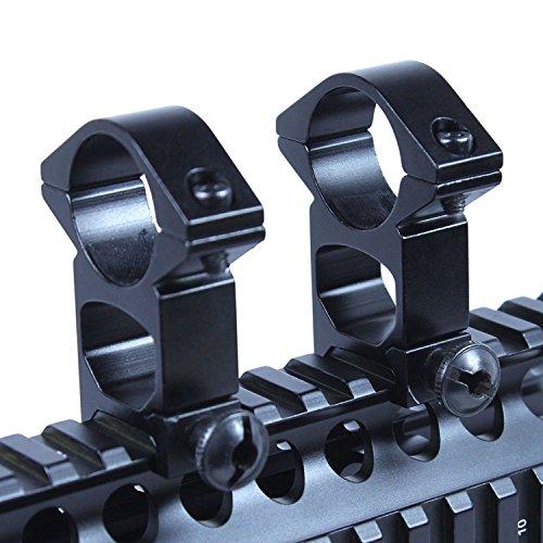OTW Scope Mount Rings,High/Medium Profile Weaver Rail Scope Rings for Weaver Rail Mount/Gun Rifle AR 15