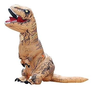 Hinchable dinosaurio Jurrasic parque Haloween disfraz. Fiesta ...