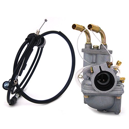 - NIMTEK Carburetor Carb W/Throttle Gas Cable Fits Yamaha PW50 PW 50 1981-2009 Motorcycle New