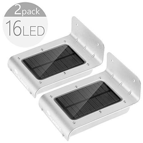 16 LED Solar Powered Motion Sensor