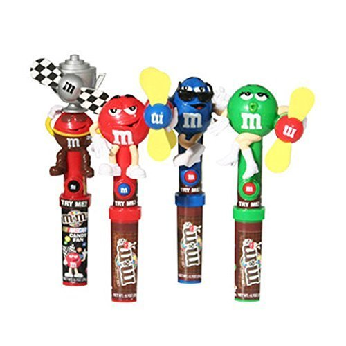 M&M Candy Dispenser Fan 12 Count by The Nutty Fruit House