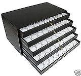 180 Gem Jar Storage Case Gemstones Jewelry Display Box