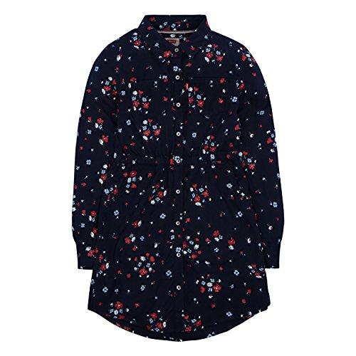 Levi's Girls' Toddler Long Sleeve Western Dress, Navy Blazer, 3T -