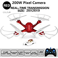 RC Drone 200w Camera Wifi FPV Control Kids Toys Quadcopter Helicopter Aircraft Toy Air plane Gift