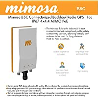 Mimosa Networks B5c Backhaul 5 Ghz 1,500+ Mbps Connectorized