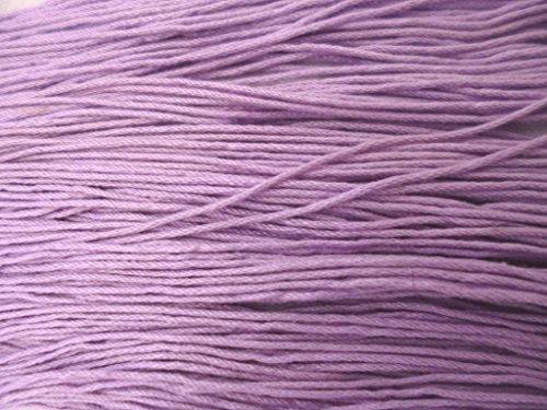 Mercerized Cotton Lavender Knitting Crochet Yarn Thread