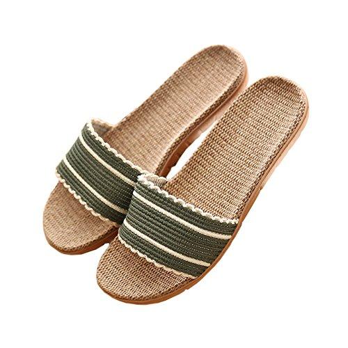 Pantofola Unisex Casa Pantofola Camera Da Letto Pantofola Pantofola Pantofola Leggera Traspirante Verde Chiaro