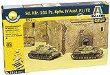 Italeri - I7514 - Maquette - Chars d'assaut - Panzer IV Ausf F1 - Echelle 1:72