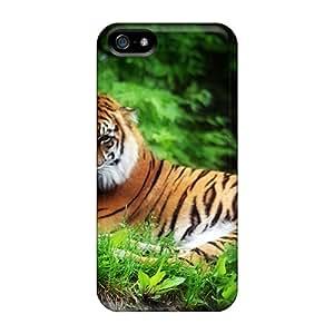 Iphone 5/5s Case Bumper Tpu Skin Cover For Tiger Accessories