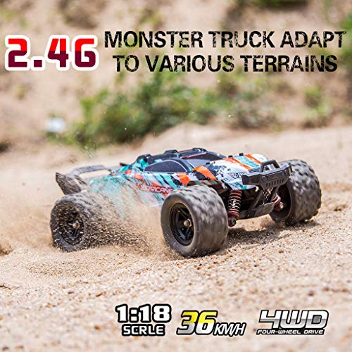 Quelife HS 18322 2.4G 1/18 4WD 36km/h High-Speed Off-road Truck RC Car RTR