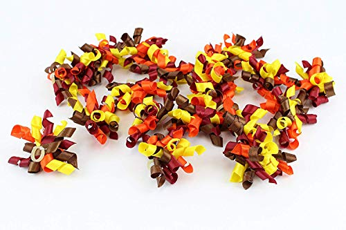 Midlee Thanksgiving Dog Hair Bows Set of 20 by Midlee (Image #3)