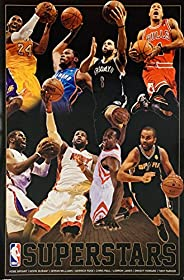 NBA Superstars (2013) - Basketball Poster (24 x 36 inches)
