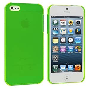 Accessory Planet(TM) Green Crystal Hard Snap-On Rear Case Cover for Apple iPhone 5 / 5S