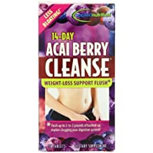 Applied Nutrition 14-day Acai Berry Cleanse 56-Count Bottle (Pack of 3 (56 tabs ea))