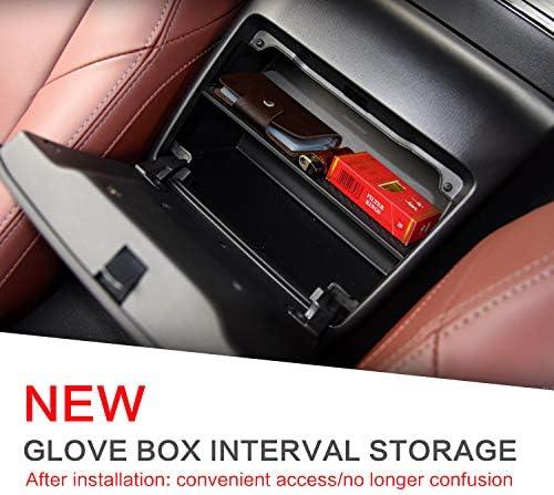 linfei Auto Handschuhfach Intervallspeicher F/ür Mazda Mx-5 Rf Miata 2015-2019 Aufbewahrungskonsole Aufr/äumen Box Schwarz Zentrale Aufbewahrungsbox