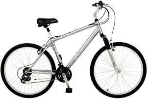 Schwinn Miramar Men's Comfort Bike (26-Inch Wheels, Grey)
