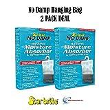 2 PACK No Damp Hanging Moisture Absorber & Dehumidifier Star...