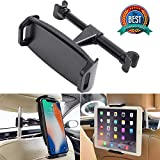 Car Headrest Mount, YUNSONG 360° Rotating Universal Tablet Holder Sedan Backseat Seat Mount for Phone 4.7'-13.5' in Compatible with iPhone/iPad/Air/Mini/Galaxy Tab/Kindle Fire/Nintendo