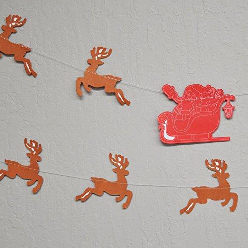 Quasimoon Reindeer Christmas Holiday PaperLanternStore