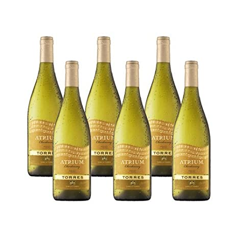 Atrium Chardonnay - Vino Blanco - 6 Botellas