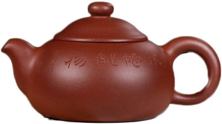 Lei Zhang Zishaポット鉱石紫粘土茶セットShangshanポットフル手作りティーポット (Color : Bottom clearance)